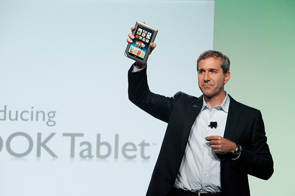 планшет Nook Tablet от Barnes & Noble