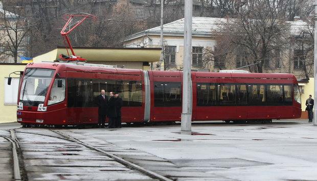 Трамвай «Белкоммунмаш–84300М»