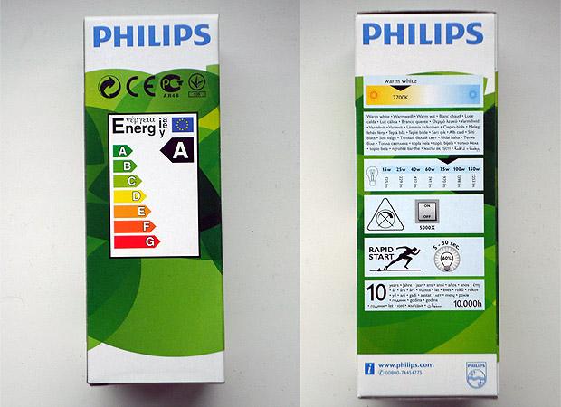 Энергосберегающие лампы Philips