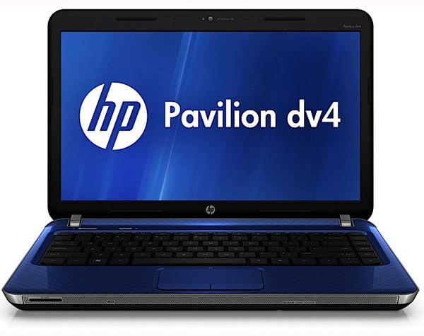 ноутбук HP Pavilion dv4 образца 2011 года